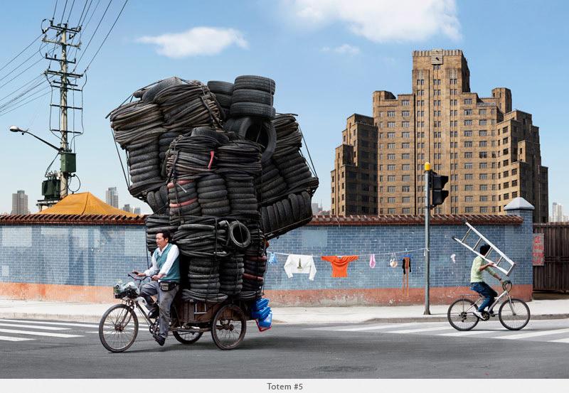 ...und ein Reifenhändler. (Bild: www.alaindelorme.com)
